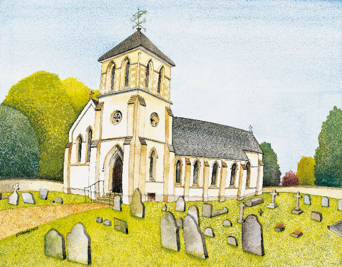 Westley Church painting